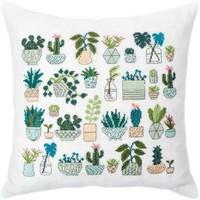 Borduurpakket Kussen - Cactus