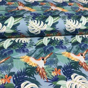 Tricot - Hilco - Jungle parrots
