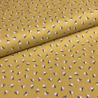 Katoen - Summer vibes - Origami geel