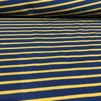 Tricot - Froy  & Dind - Stripes mustard/blue