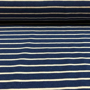 Tricot (Bamboo) - froy & Dind - Blue stripes