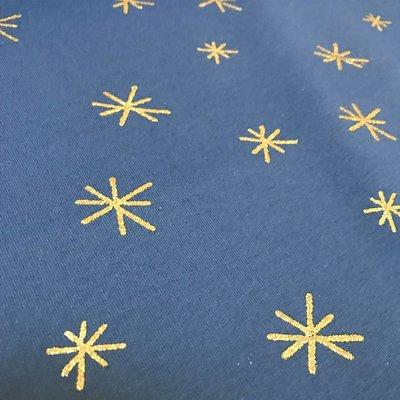 Denim sweater - glitter stars