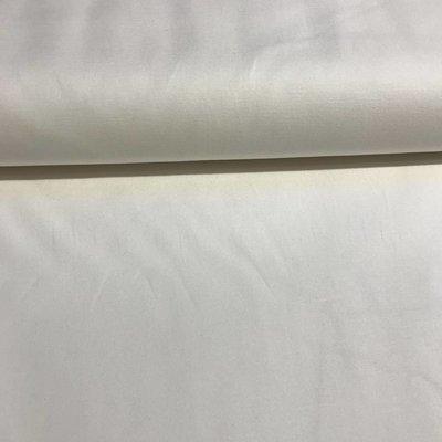 Stretchkatoen - twill - gebroken wit