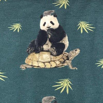 Tricot Stenzo - Panda en schildpad