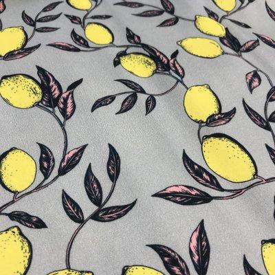Stretchkatoen - Limone