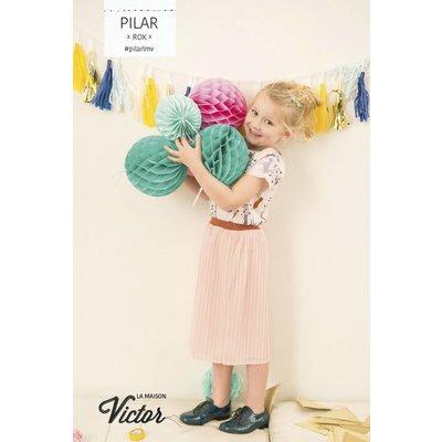 Plissé - Pilar rok (La Maison Victor)