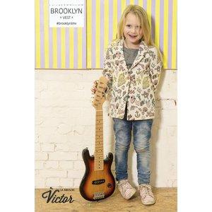 Jacquard- Brooklyn vest (La Maison Victor)