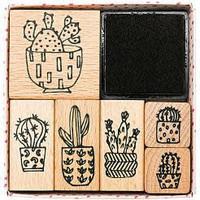 Stempelset - Hygge Cactussen