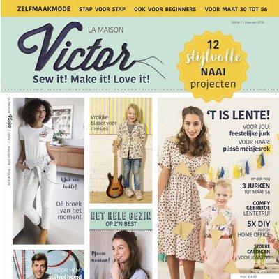 La Maison Victor Tijdschrift - La Maison Victor - 2/2018 - maart-april