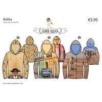Patroon voor een hoody - Bobby
