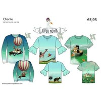 Patroon voor t-shirts - Charlie