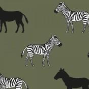 Tricot - Zebra groen