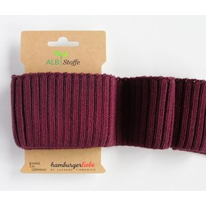 Albstoffe Cuff me Cosy - Bordeaux