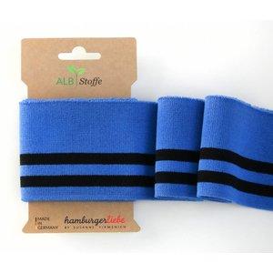 Albstoffe Cuff me college - blauw