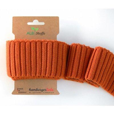 Albstoffe Cuff me Cozy - Oranje
