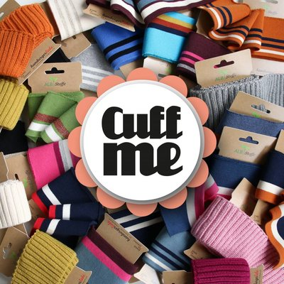 Albstoffe Cuff me Cosy - Taupe
