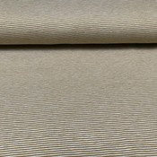 Tricot - geel fijne strepen