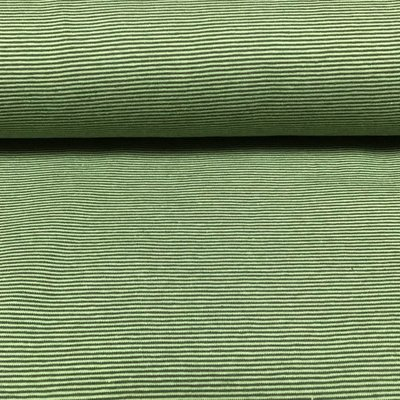Tricot - Groene fijne strepen