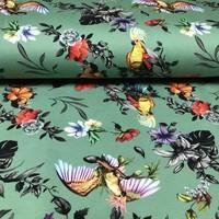 Megan Blue Fabrics Tricot - Tropical Green
