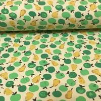 Megan Blue Fabrics Tricot - Appelen en peren