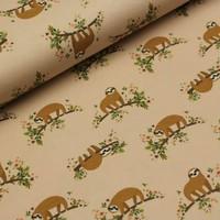 Megan Blue Fabrics Tricot - Sluggard Salmon