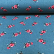 Megan Blue Fabrics Tricot - Chinese Rose