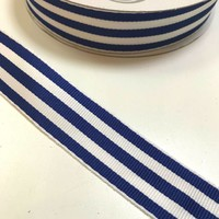 Ripslint - Blauw-witte strepen