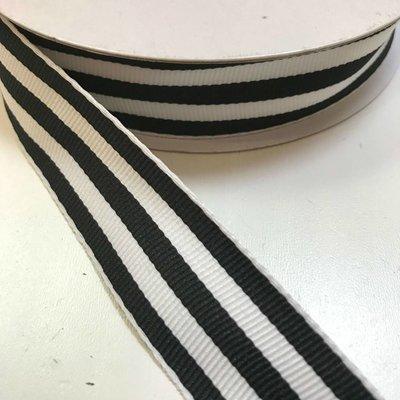 Ripslint - Zwart-witte strepen