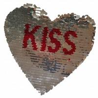 Omkeerbare pailletten - Hart kiss