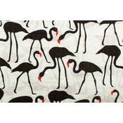 Katoen/Viscose - Flamingo's