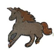 Omkeerbare pailletten - Unicorn zilver