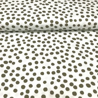 Piqué - Dots groen