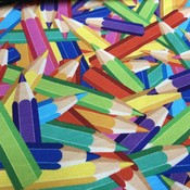 Tricot - Digital Joyful Colors Pencils