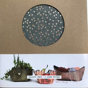 DIYpakket - Lotte Martens - Basket Coreo Felt Grey