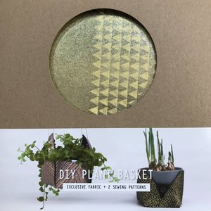 DIYpakket - Lotte Martens - Plant Holder Jumeaux Yellow