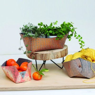DIYpakket - Lotte Martens - Basket Jumeaux Mint