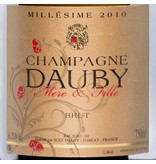 DAUBY MERE & FILLE CHAMPAGNE DAUBY Millésime 2010