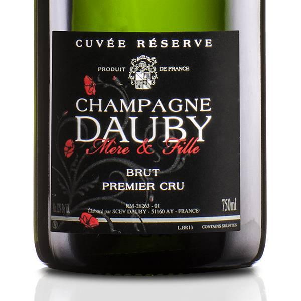 DAUBY MERE & FILLE GCHAMPAGNE DAUBY Reserve Brut Premier Cru