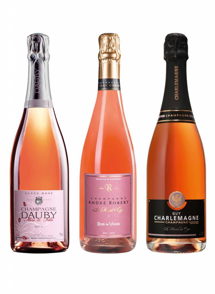 Champagne Therapy Rosé Set