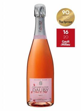 DAUBY MERE & FILLE CHAMPAGNE DAUBY Rosé Brut