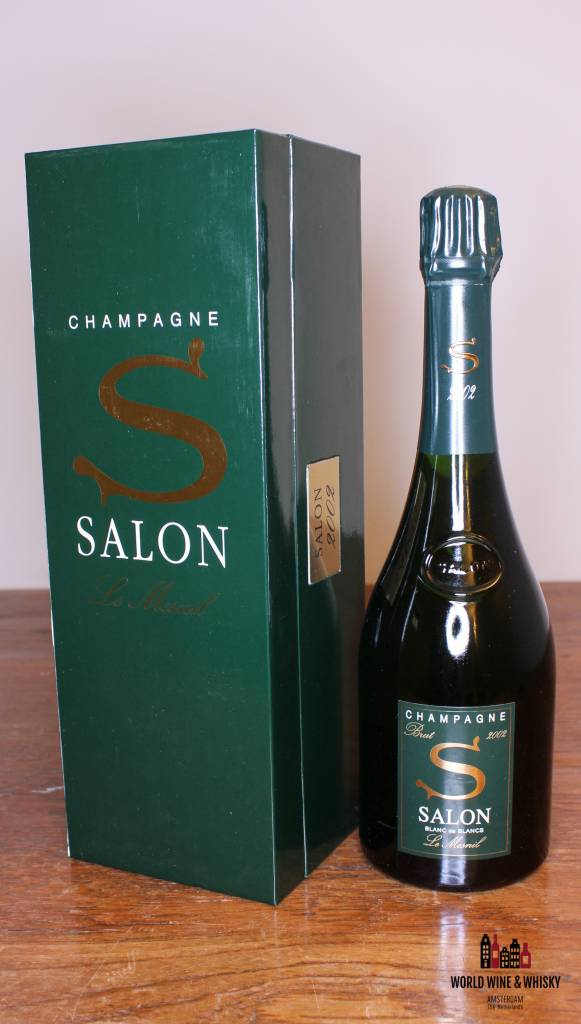 The Salon Blanc de Blancs Le Mesnil 2002 at World Wine & Whisky ...