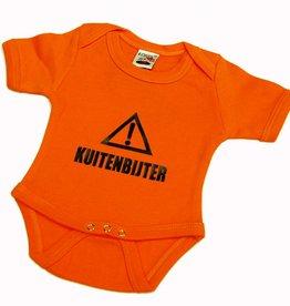 Babybody Kuitenbijter oranje