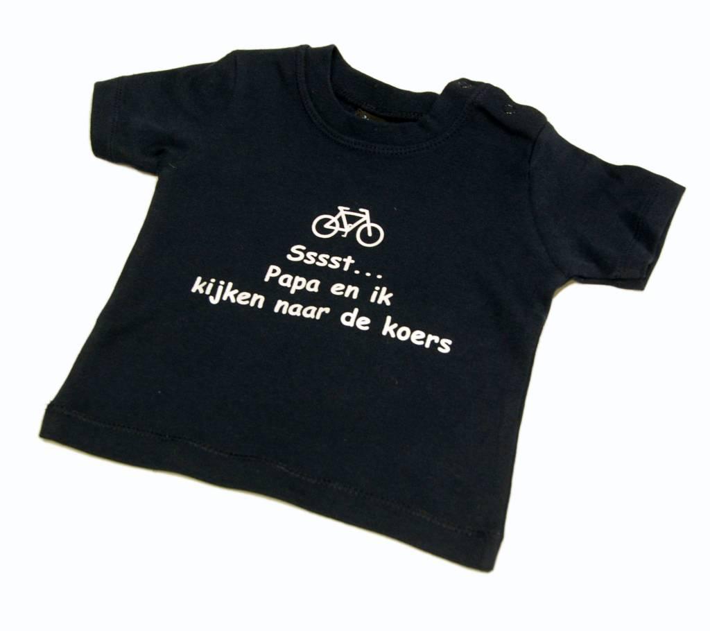 T-shirt kids Sst papa en ik blue