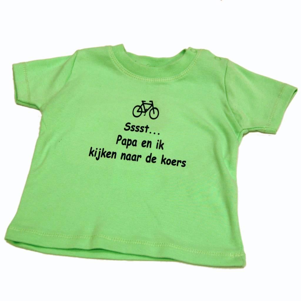 T-shirt kids Sst papa en ik - green