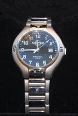 Ronde-uurwerk titanium