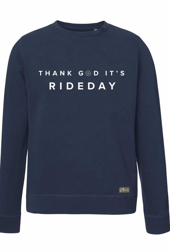 Thank god it's rideday sweater