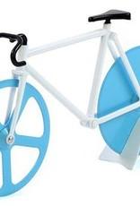 Pizza cutter blue / white