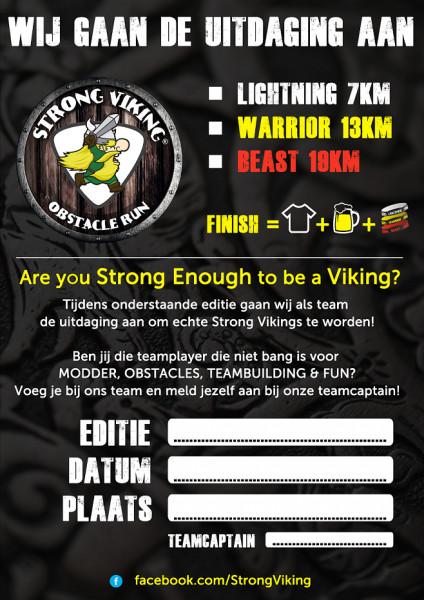 Strong Viking FREE Team Poster