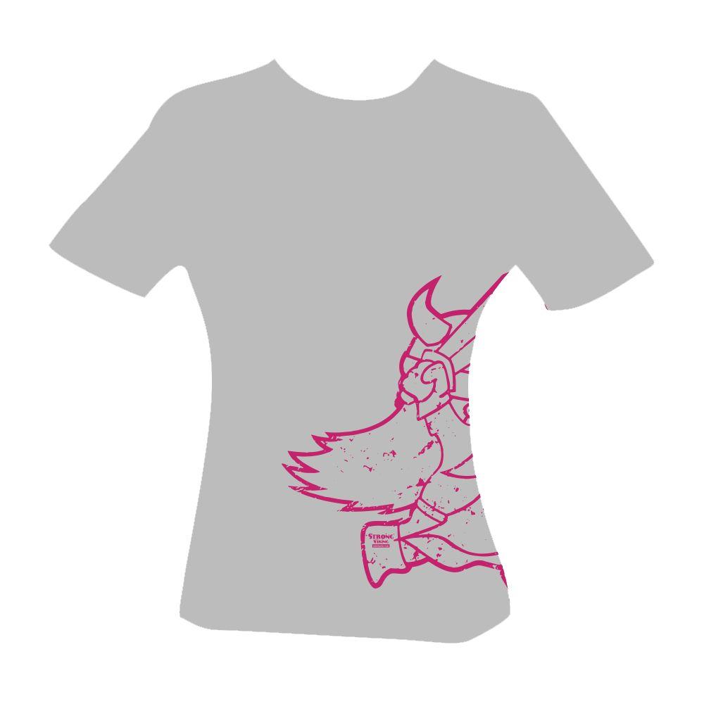 Strong Viking Women's Grey Casual Shirt