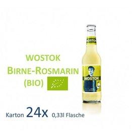 Wostok Birne - Rosmarin 24 x 330ml